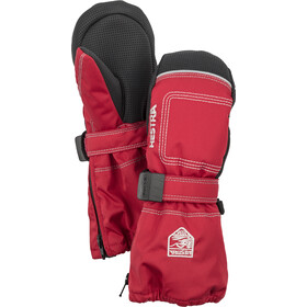 Hestra Baby Zip Long Mittens Barn red